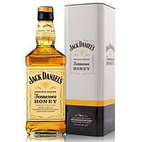 Виски-Ликер Jack Daniel's (Джек Дэниэлс Медовый) Tennessee Honeyв мет. коробке 0,7L