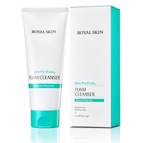 Мультипузырьковая пенка для умывания ROYAL SKIN Skin Purifying Foam Cleanser 150ml