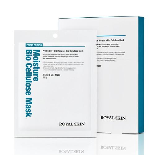 Біо-целюлозна зволожуюча маска для обличчя ROYAL SKIN Prime Edition Moisture Bio Cellulose Mask 1шт