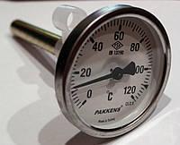Термометр с гильзой 10см, 120С Pakkens