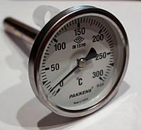 Термометр с гильзой 10см, 300С Pakkens