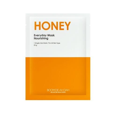 Питательная ежедневная маска для лица с экстрактом меда BOOMDEAHDAH Everyday Mask Honey 25g