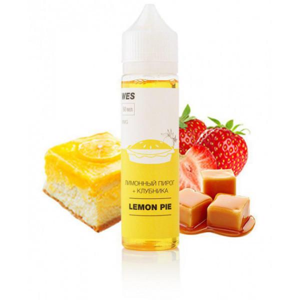 Премиум жидкость для электронных сигарет WES Lemon Pie 60 мл 3 мг