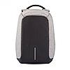 Рюкзак Bobby Bag Антивор для ноутбука + USB порт | Серый, фото 4