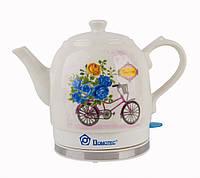 Чайник Domotec MS 5051 керамический / электрочайник / 1,5L