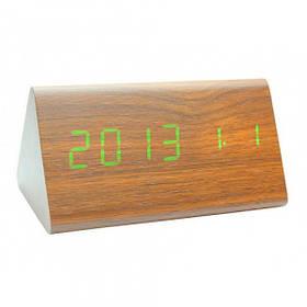 Настольные часы VST 861-6 под дерево Brown | Оригинал
