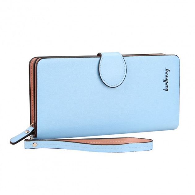 Женский клатч-кошелек Baellerry 13845 Голубой | Оригинал