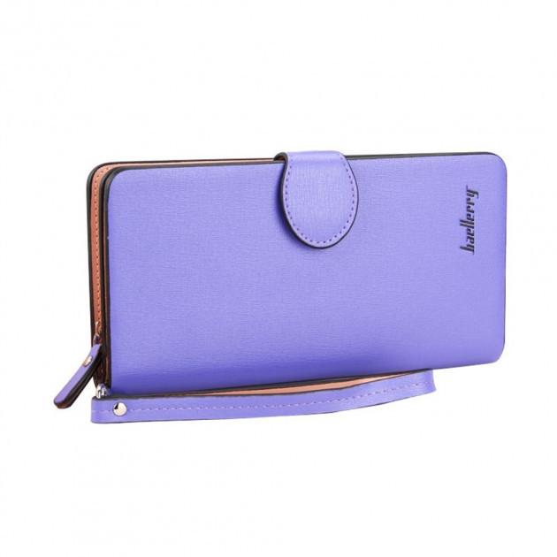 Женский клатч-кошелек Baellerry 13845 Фиолетовый | Оригинал