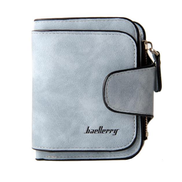 Женский клатч-кошелек Baellerry Forever Mini 2346 Голубой | Оригинал