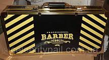 Чемодан мастера металлический для Barber (золотой )