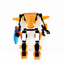 Конструктор Nati Warrior Воїн (27010) 184 деталі + Подарунок, фото 2