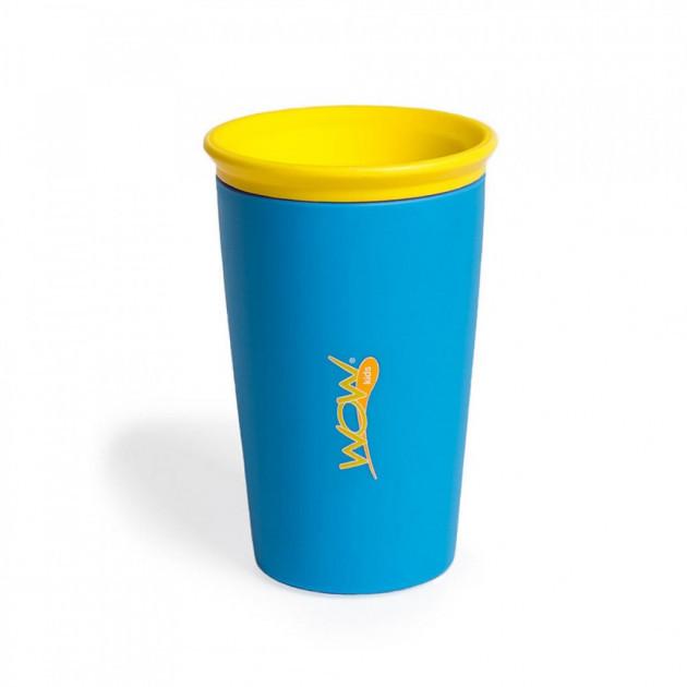 Детский стакан-непроливайка Wow Cup Синий