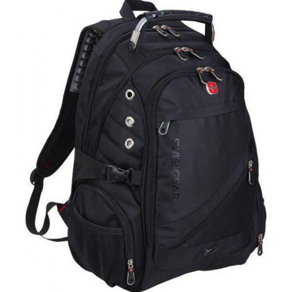 Городской рюкзак Swissgear 8810 Черный | Оригинал