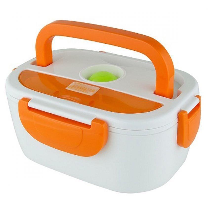 Ланч-бокс The Electric Lunch Box с подогревом 220V Оранжевый   Оригинал