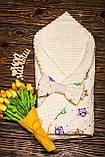 Двухсторонний конверт-одеяло  100х80см Минки для девочкек, фото 8