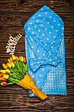 Двухсторонний конверт-одеяло  100х80см Минки для девочкек, фото 10