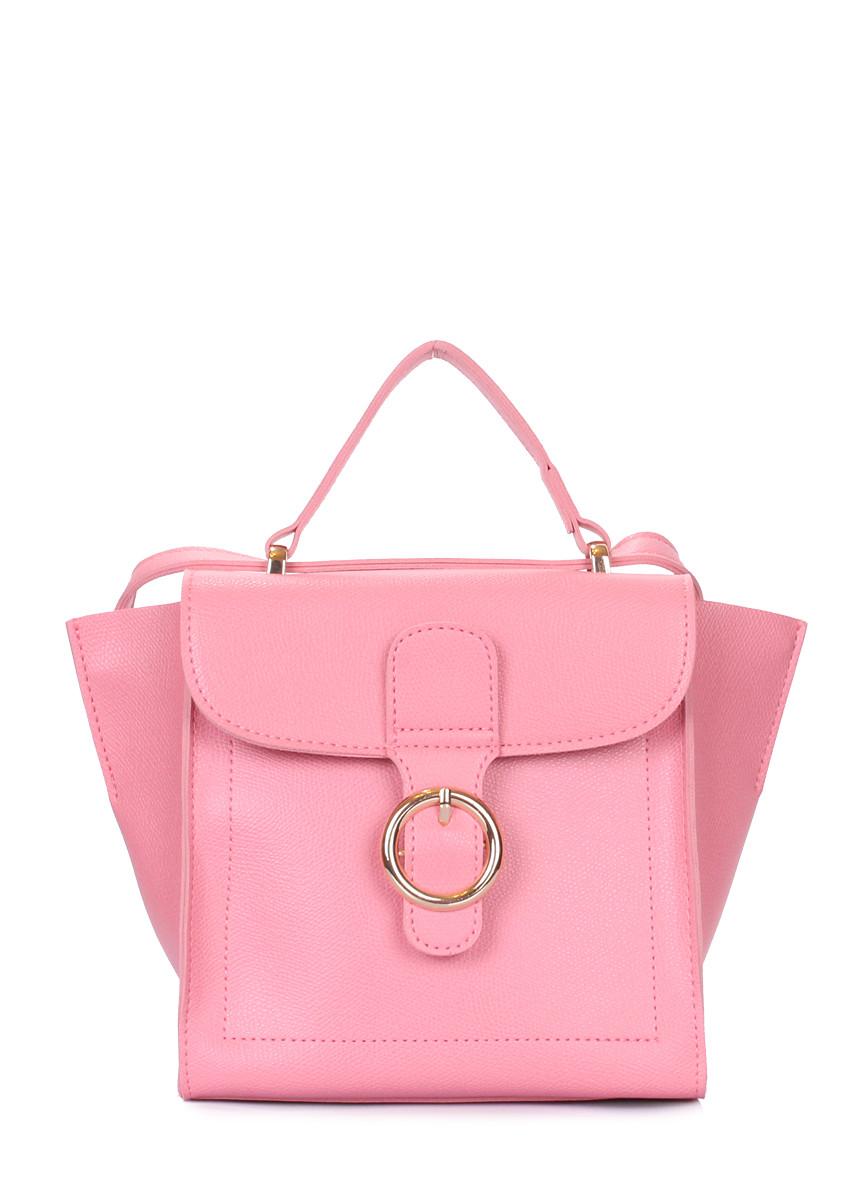 Розовая сумочка на плечо