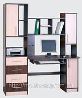 Стол компьютерный  Леон 4 (с надставкой)