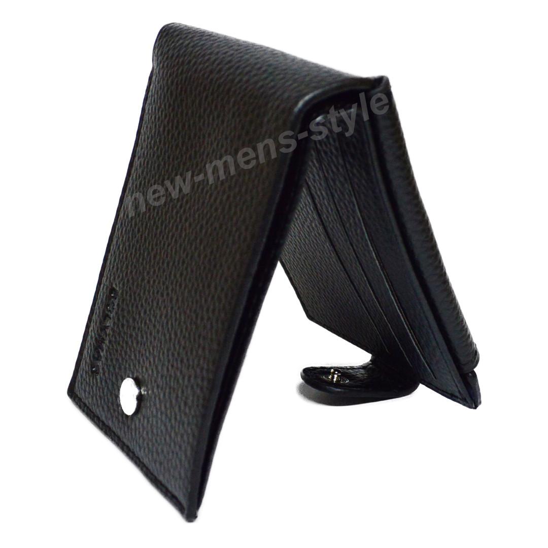 6d335d7b04ce Мужской кожаный шкіряний кошелек портмоне клипса зажим для денег BOLVMAS