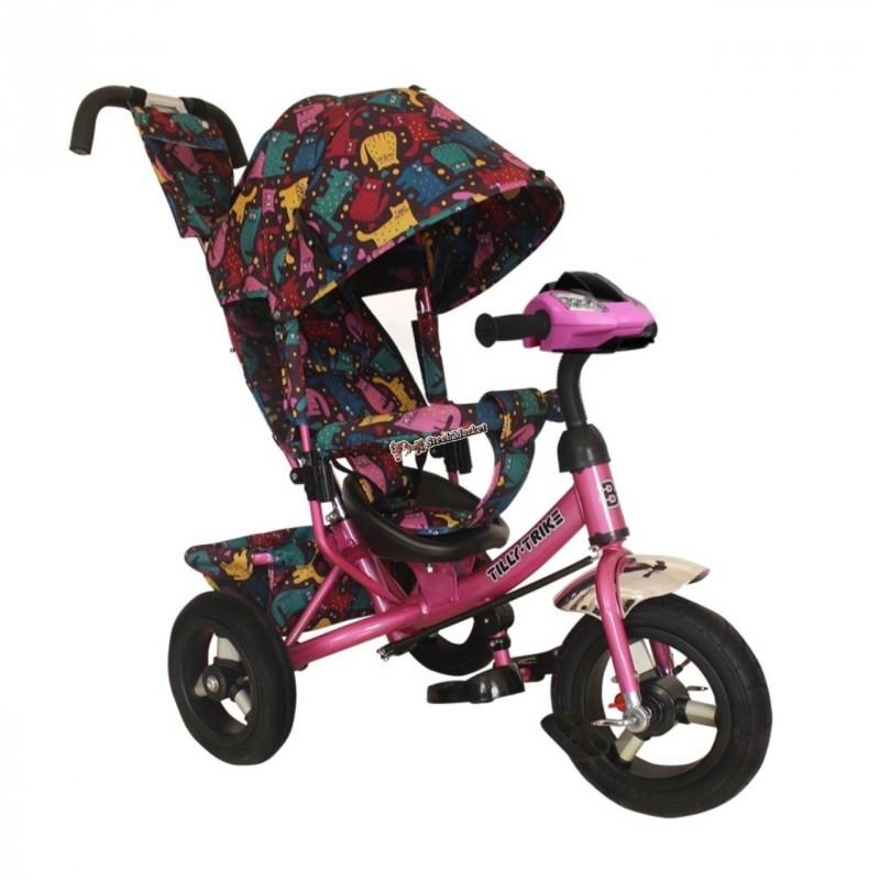 Велосипед трехколесный Tilly Trike T-363-5 розовый