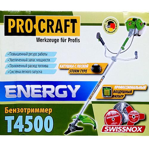 Мотокоса Procraft T4500