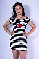 Туника женская белая 3082