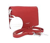 Клатч женский кожзам красный матовый Diana&Сo 323904-3, Италия, фото 1