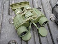 Бинокль (полевой) военно - морской Military  10 x 50 W., фото 1