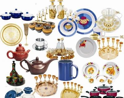 Красивая посуда для кухни