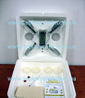 Інкубатор Веселе Сімейство 2Л цифровий терморегулятор, ламповий нагрів