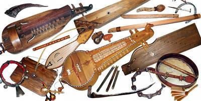 Музыкальные инструменты народной музыки