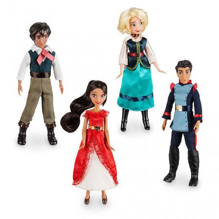 Набор из  4 мини кукол Елена из Авалора Disney