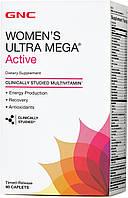 Women's Ultra Mega Active GNC 90 caplets