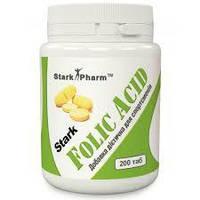 Folic Acid 400 мкг Stark Pharm 200 таб