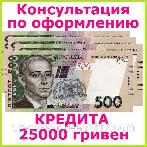 кредит 25000 без справок и поручителей