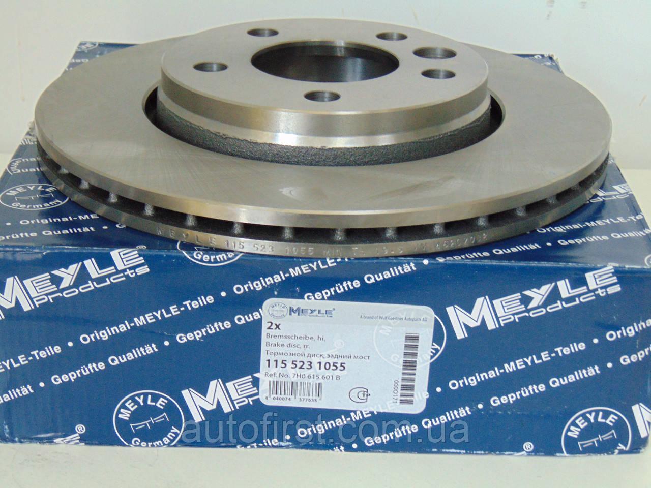 Meyle 115 523 1055  Диск тормозной задний VW T-5
