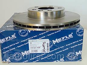 Meyle 115 521 1038  Диск тормозной передний VW T-4