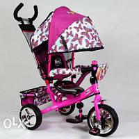 Детский трёхколёсный велосипед WX 0102 WINX