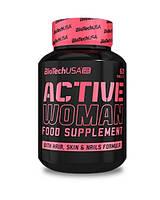 Вітаміни для жінок Active Woman BioTech USA - 60 таб