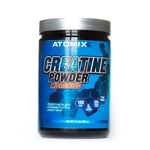 Креатин моногідрат Atomixx Creatine Powder Micronizid 300 г