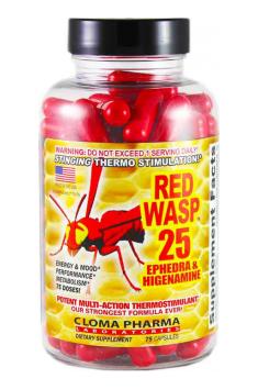 Red Wasp Cloma Pharma 75 caps