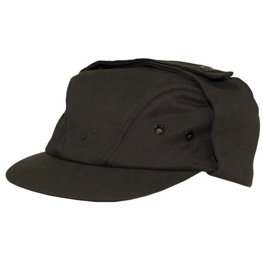 [как новая] Чехословацкая полевая шапка M85 р.55 тёмно-зелёная 610218