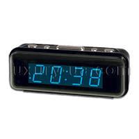 Часы сетевые 738-5 синие