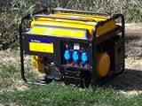 Бензиновый генератор Sadko