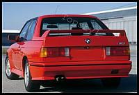 Спойлер тюнинг стиль M3 BMW E30