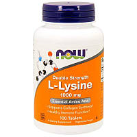 L-Lysine 1,000 mg NOW Foods 100 Tabs