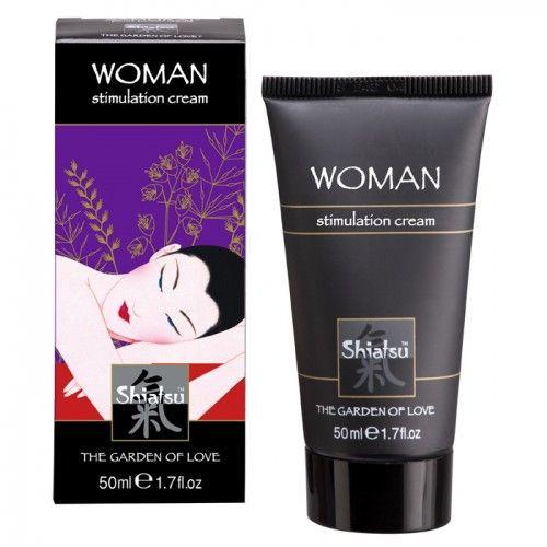 Стимулирующий возбуждающий крем для женщин «SHIATSU Geisha's Dream» 50мл