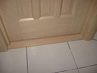 Установка дверного порога