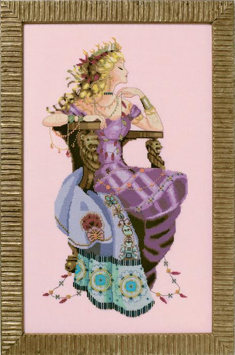 Схема для вышивки Sun Goddess / Богиня солнца Mirabilia Designs