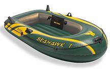 Одноместная надувная лодка Intex 68345 Seahawk-1